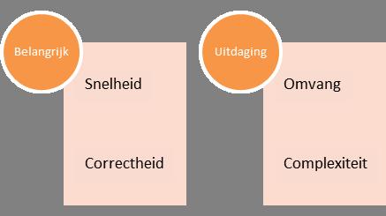 Omvang en complexiteit zijn uitdagingen bij een reorganisatie